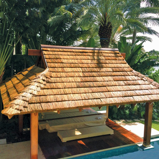 Synthetic Thatch Roof Shade