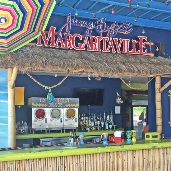 Thatch Tahiti Roof Over Margaritaville Bar