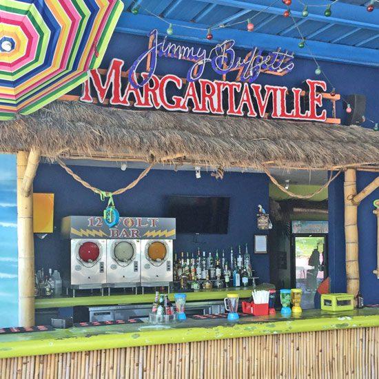 Thatch Tahiti Roof Over Margaritaville Bar