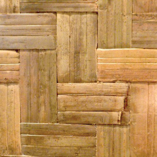 Herringone Wide Weave Bamboo Plywood Veneer