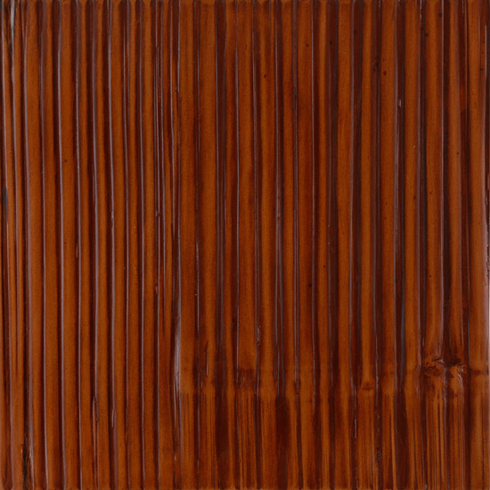 Wide Crushed Cinnamon Stained Bamboo Laminated to Marine Plywood