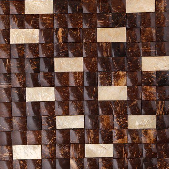 Burias Vasco Coconut Capiz Shell on Marine Plywood