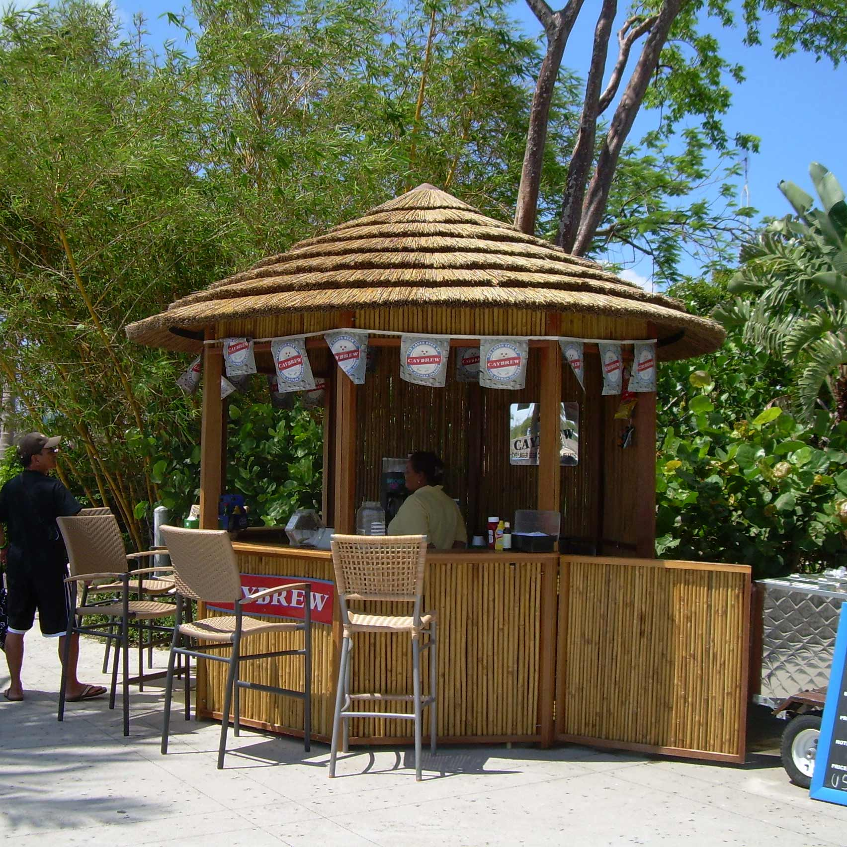 Tropical Cabanas Tiki Bar Gazebos Amp Concession Stand